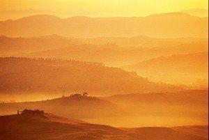 Soluppgången naturbilder på glas - av Felix Oppenheim | Konst på väggen