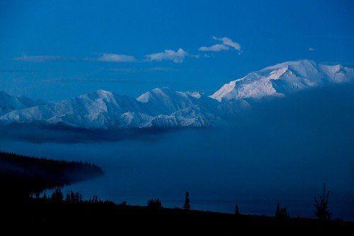 Alaska mist naturbilder på glas - av felix oppenheim | Art On The Wall