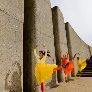 Dansande konstfotografi - av felix oppenheim | Art On The Wall