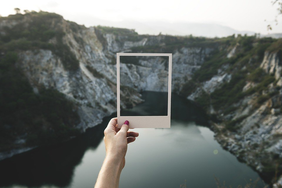 Foto på glas